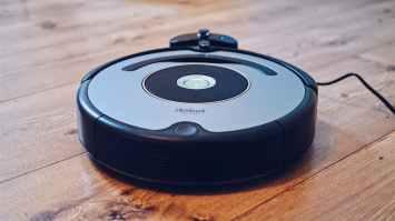 round robot vacuum